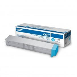 Samsung CLT-C607S Оригинальный лазерный картридж, ресурс - 15000 стр., голубой