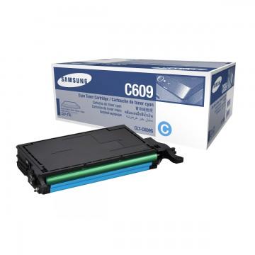 Samsung CLT-C609S | SU086A оригинальный тонер картридж - голубой, 7000 стр