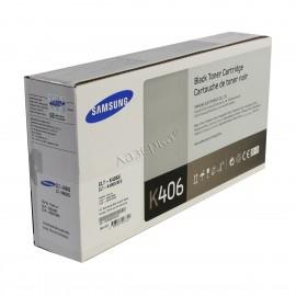 CLT-K406S оригинальный лазерный картридж Samsung, ресурс - 1500 страниц, черный