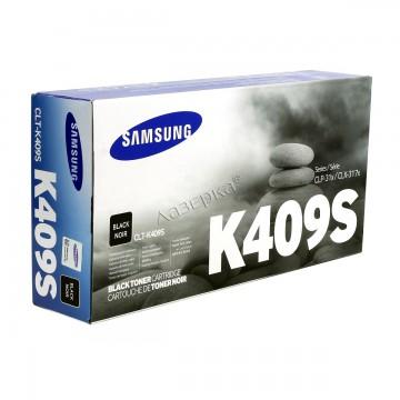 CLT-K409S оригинальный лазерный картридж Samsung, ресурс - 1500 страниц, черный