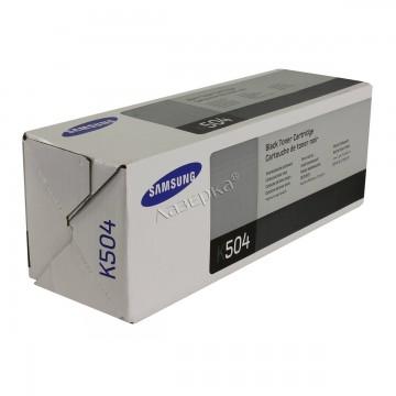 CLT-K504S оригинальный лазерный картридж Samsung, ресурс - 2500 страниц, черный