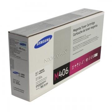 CLT-M406S оригинальный лазерный картридж Samsung, ресурс - 1000 страниц, пурпурный