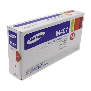 CLT-M407S оригинальный лазерный картридж Samsung, ресурс - 1000 страниц, пурпурный