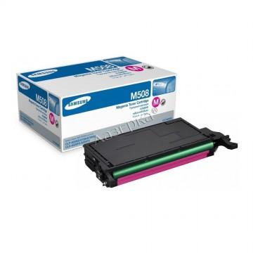 CLT-M508S оригинальный лазерный картридж Samsung, ресурс - 2000 страниц, пурпурный