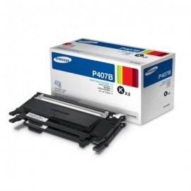 CLT-P407B Black тонер картридж Samsung, 2*1500 стр., черный