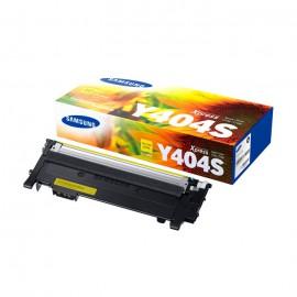 CLT-Y404S оригинальный лазерный картридж Samsung, ресурс - 1000 страниц, желтый