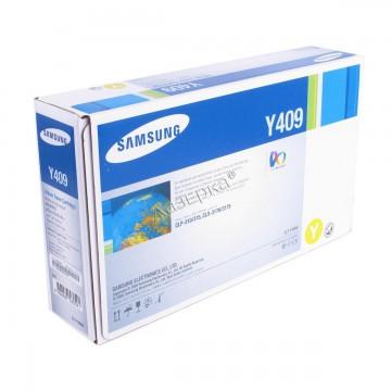 Samsung CLT-Y409S | SU484A оригинальный тонер картридж - желтый, 1000 стр
