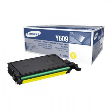 Samsung CLT-Y609S | SU563A оригинальный тонер картридж - желтый, 7000 стр