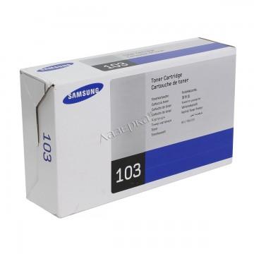 MLT-D103S оригинальный лазерный картридж Samsung, ресурс - 1500 страниц, черный
