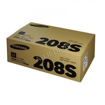MLT-D208S оригинальный лазерный картридж Samsung, ресурс - 4000 страниц, черный