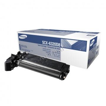 SCX-6320D8 оригинальный лазерный картридж Samsung, ресурс - 8000 страниц, черный