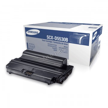 SCX-D5530B оригинальный лазерный картридж Samsung, ресурс - 8000 страниц, черный