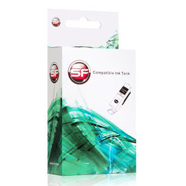 SuperFine SF-CN054AE совместимый струйный картридж аналог HP CN054AE ресурс - 14 мл, голубой.