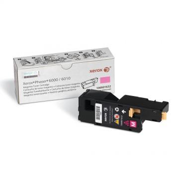 106R01632 Magenta оригинальный лазерный картридж Xerox, ресурс - 1000 страниц, пурпурный