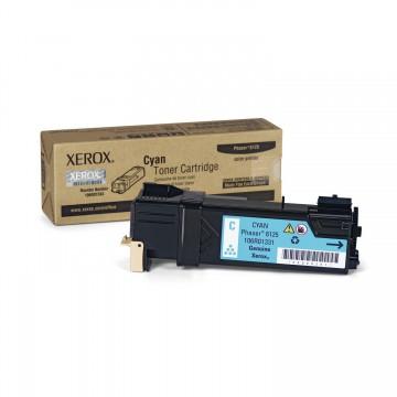 106R01335 Cyan оригинальный лазерный картридж Xerox, ресурс - 1000 страниц, голубой