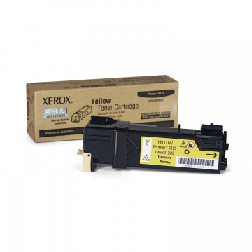 Xerox 106R01337 Toner Yellow оригинальный тонер картридж - желтый, 1000 стр
