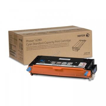 106R01400 High cyan оригинальный лазерный картридж Xerox, ресурс - 5900 страниц, голубой