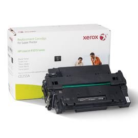 55A / CE255A Black | 106R01621 тонер картридж Xerox, 6000 стр., черный