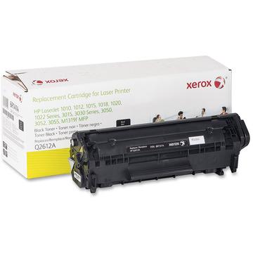 003R99628 оригинальный лазерный картридж Xerox совместимый с HP Q2612A, ресурс - 2000 страниц, черный