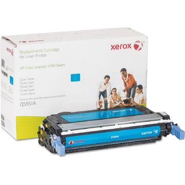 003R99737 оригинальный лазерный картридж Xerox совместимый с HP Q5951A, ресурс - 10000 страниц, голубой