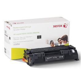 003R99807 оригинальный лазерный картридж Xerox совместимый с HP CE505A, ресурс - 2300 страниц, черный