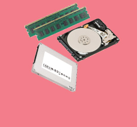 HDD | RAM | SD