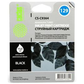 129 Black   C9364HE (Cactus) струйный картридж - 18 мл, черный