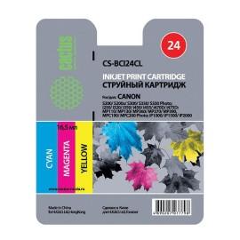 BCI-24BK | 6881A002 (Cactus) струйный картридж - 12,6 мл, цветной
