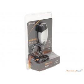 Веб-камера A4Tech PK-636K серебристый 0.3Mpix (3200x2400) USB2.0 с микрофоном