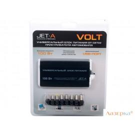 Универсальный адаптер питания для ноутбуков и цифровых устройств 100Вт Jet.A JA-PA9 Volt