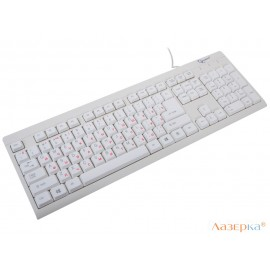 Клавиатура Gembird KB-8300-R White PS/2