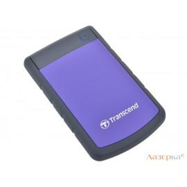 Внешний жесткий диск Transcend StoreJet 25H3P 1Tb Purple (TS1TSJ25H3P)
