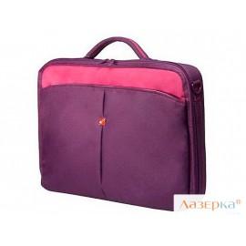 """Сумка для ноутбука Continent CC-02 до 15,6"""" (нейлон, Purple, 41 x 31 x 9 см.)"""