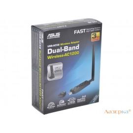 Беспроводной Wi-Fi адаптер WiFi 802.11ac ASUS USB-AC56