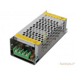 Блок питания ORIENT PB-20U2, OUTPUT: 12V DC 10A, стабилизированный, защита от КЗ и перегрузки (Imax~11A), регулятор напряжения, 2 выхода, металлический корпус