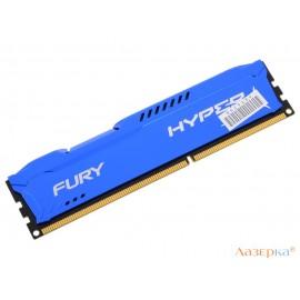 Память DDR3 4Gb (pc-12800) 1600MHz Kingston HyperX Fury Blue Series CL10