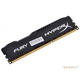 Оперативная память Kingston HyperX Fury Black Series HX316C10FB/8 DIMM 8GB DDR3 1600MHz Retail