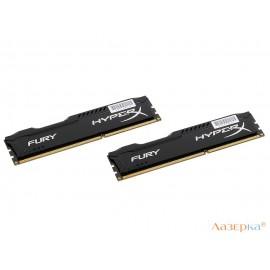 Память DDR3 8Gb (pc-12800) 1600MHz Kingston HyperX Fury Black Series CL10 Kit of 2
