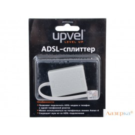 Сплиттер UPVEL US-AA ADSL2/2+ (Annex A), 2xRJ-11