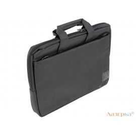 """Сумка для ноутбука Continent CC-215 BK до 15.6"""" (Черный, полиэстр)"""