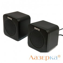 Колонки Dialog Colibri AC-01UP 2.0 Black