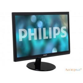 """Монитор Philips 246V5LHAB/00(01) 24"""" Glossy Black"""