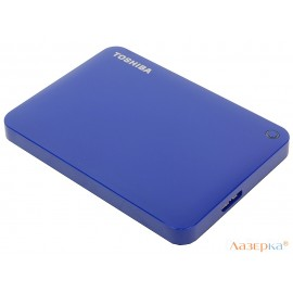 Внешний жесткий диск Toshiba Canvio Connect II 500Gb Blue (HDTC805EL3AA)
