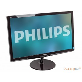 "Монитор Philips 247E6LDAD/00(01) 23.6"" Glossy Dark Cherry Red"