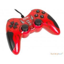 Геймпад 3Cott Single GP-06, 14 кнопок, вибрация, USB, красный