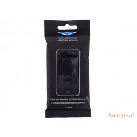 Влажные салфетки для мобильных устройств. 15шт. TechPoint 1123