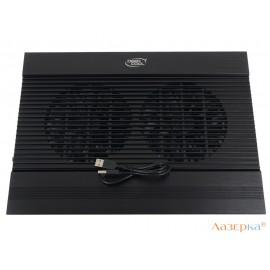 Теплоотводящая подставка под ноутбук DeepCool N8 BLACK