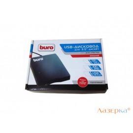 Оптический привод FDD BURO BUM-USB USB 2.0 черный Retail