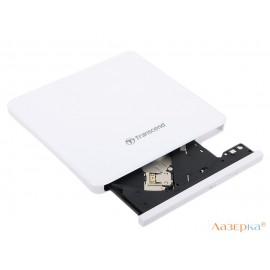 Внешний привод DVD±RW Transcend TS8XDVDS-W Slim USB2.0 Retail белый