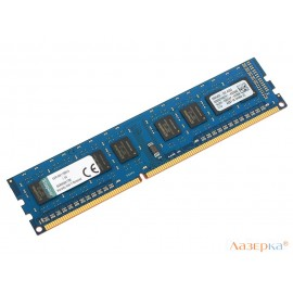 Оперативная память 4Gb PC3-12800 1600MHz DDR3 DIMM CL11 Kingston KVR16N11S8H/4
